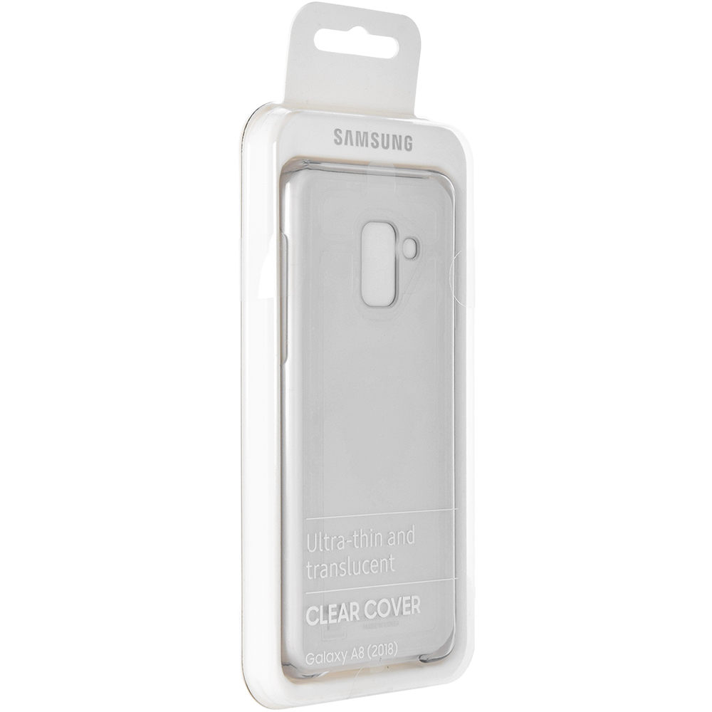 Etui Samsung Clear Cover do Galaxy A8 2018 caseA